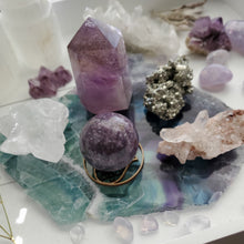 "Load image into Gallery viewer, ""Calm + Creative"" Crystal Altar Kit Set"