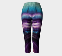 "Load image into Gallery viewer, ""Capri"" Rainbow Fluorite Eco Poly Crystal Statement Leggings"