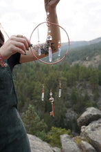"Load image into Gallery viewer, ""Unlock Your Dreams"" Electroformed Crystal Suncatcher"