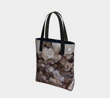 Load image into Gallery viewer, Pink Amethyst Crystal Print Tote Bag