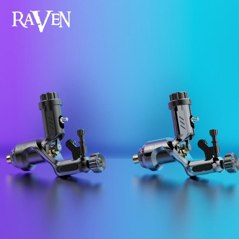 Dragonhawk Raven Ⅱ Rotary Tattoo Machine One Touch Hit Adjuster Machine