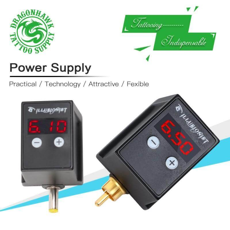 Dragonhawk P1 Wireless Tattoo Power Supply Battery