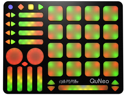 QuNeo, 3D Multi-touch Open Source MIDI & USB Pad Controller