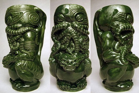 Horror In Clay Tiki Mug