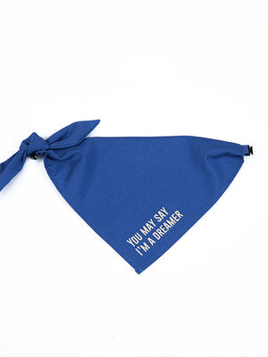 John Lennon - Imagine Lyrics Pet Bandana - Petites Paws