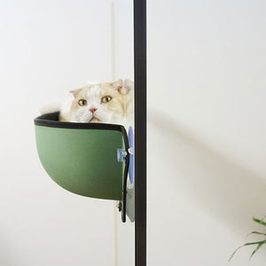 Window-Mounted Cat Perch - Petites Paws