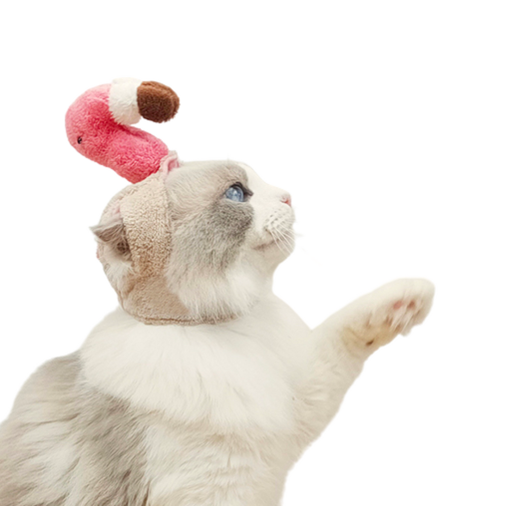 Flamingo Cat Costume - Petites Paws