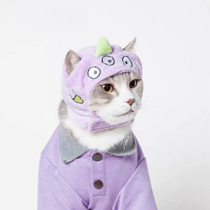 Cuddly Monster Pet Costume - Petites Paws