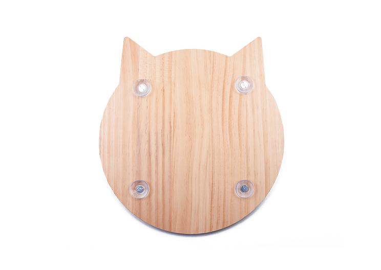 Window Mounted Cat Shaped Scratching Board - Petites Paws