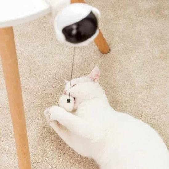 Smart Edge Ball - Electronic Interactive Cat Toy - Petites Paws