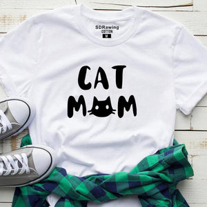 Cat Mom T-shirt - Petites Paws