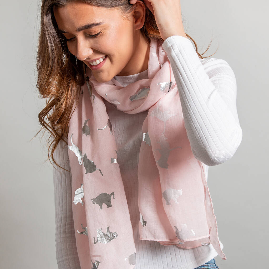 Sparkly Cat Scarf - Petites Paws