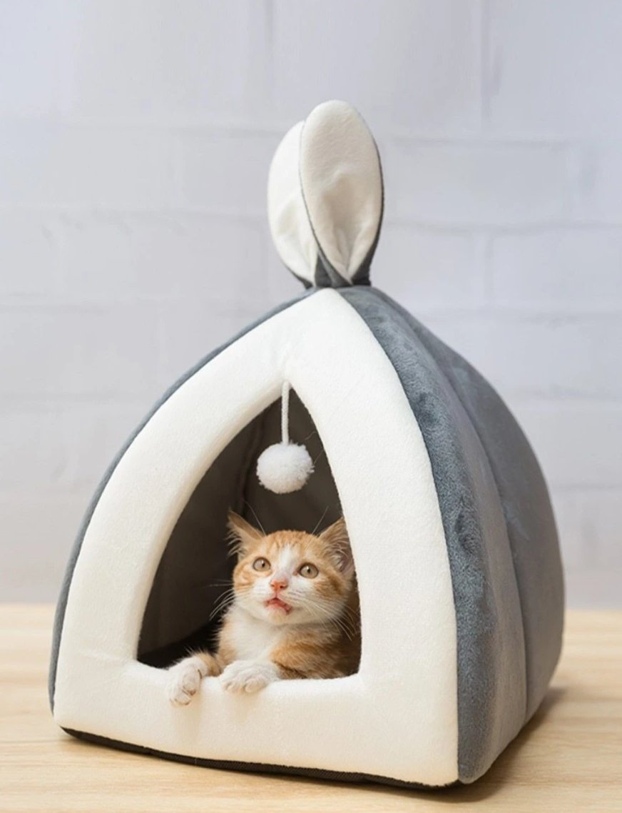 Rabbit Ears Cat Cave - Petites Paws