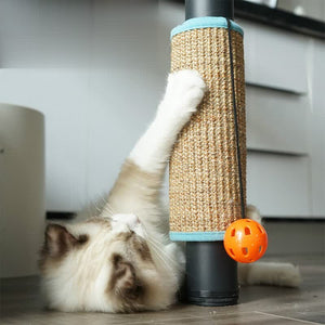 Foldable Cat Scratch with Sisal/Loop Carpet - Petites Paws