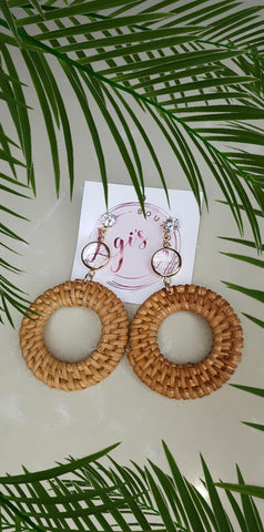 Ceiba earrings - Lgi's boutique