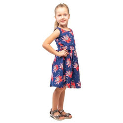 Kids Round Neck Dresses