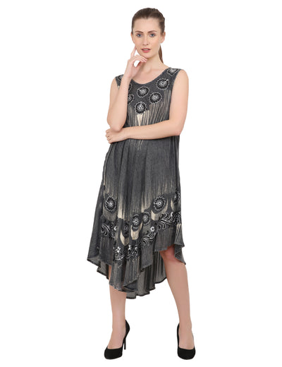 Women's Casual Loose Swing Flare Dress