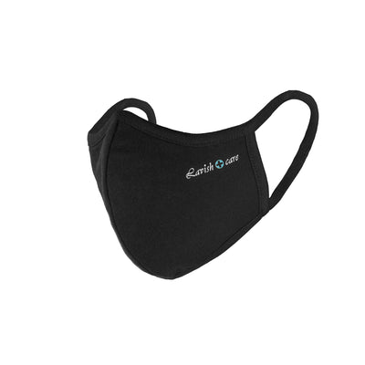 Cloth Face Mask 5 Layers Pack Of 3 - Black
