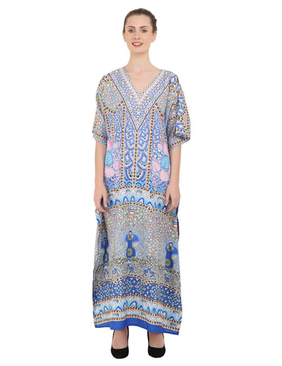 Women's Kaftans Loungewear Long Maxi Style Dress - One Size [147]