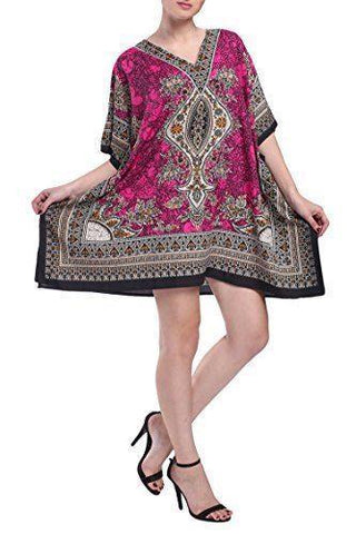 Women's Kaftan Tunic Kimono Dress Ladies Top Caftans