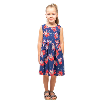 Girls Kids Vintage Audrey Hepburn Style sizes Butterfly Navy Age 3 – 12 Years