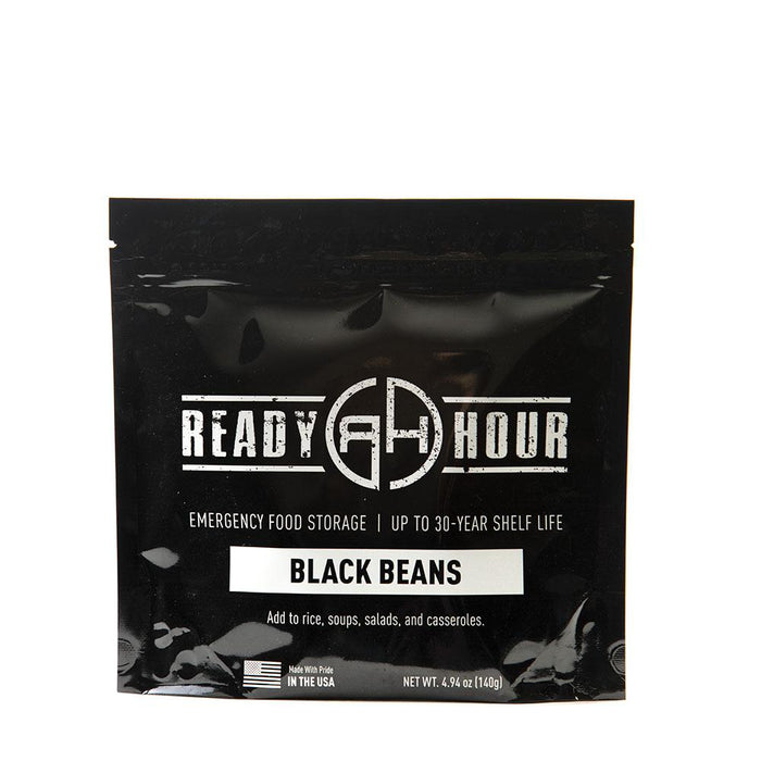 Black Beans Single Package (4 servings) - Ready Hour