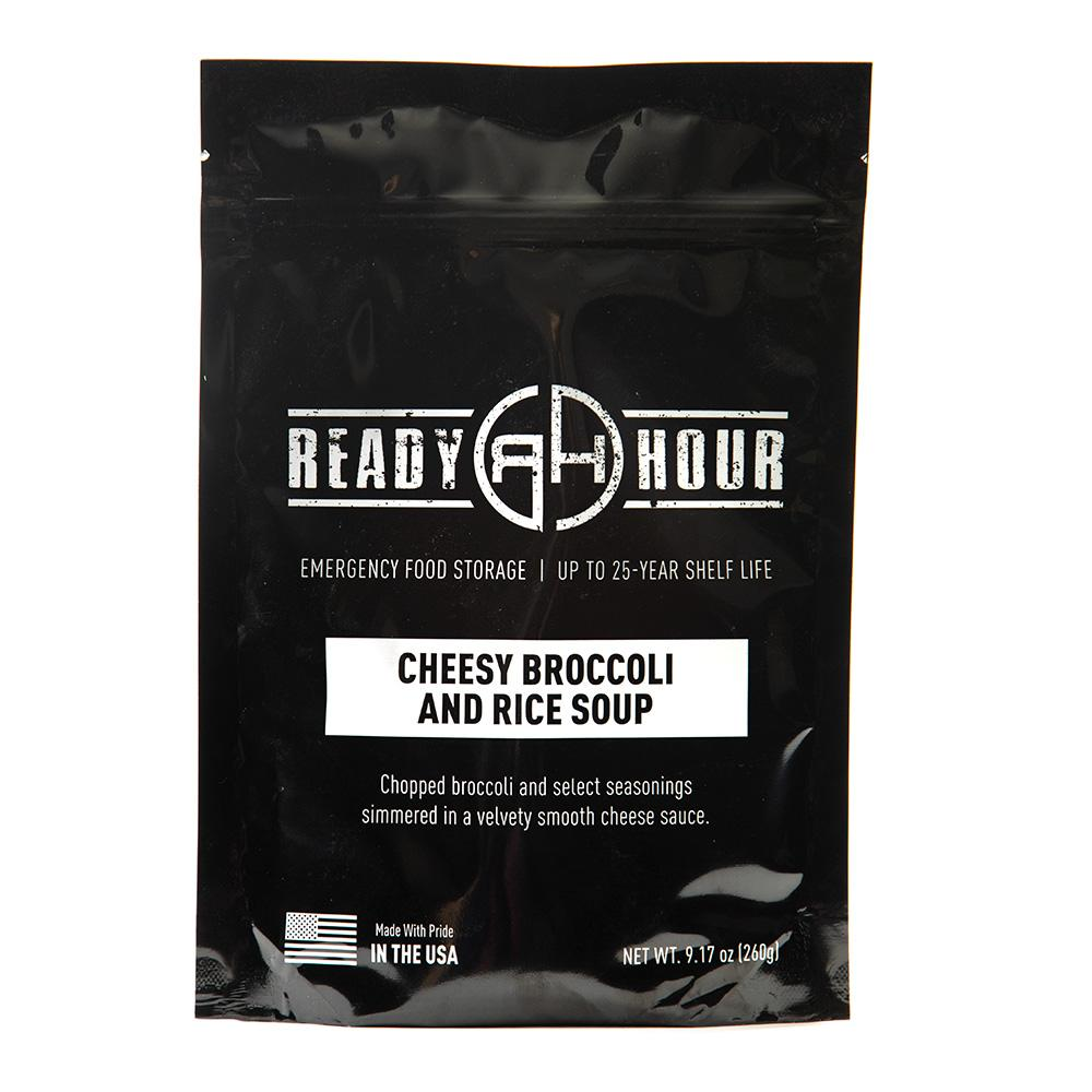 Cheesy Broccoli Soup Single Package (4 servings) - Ready Hour