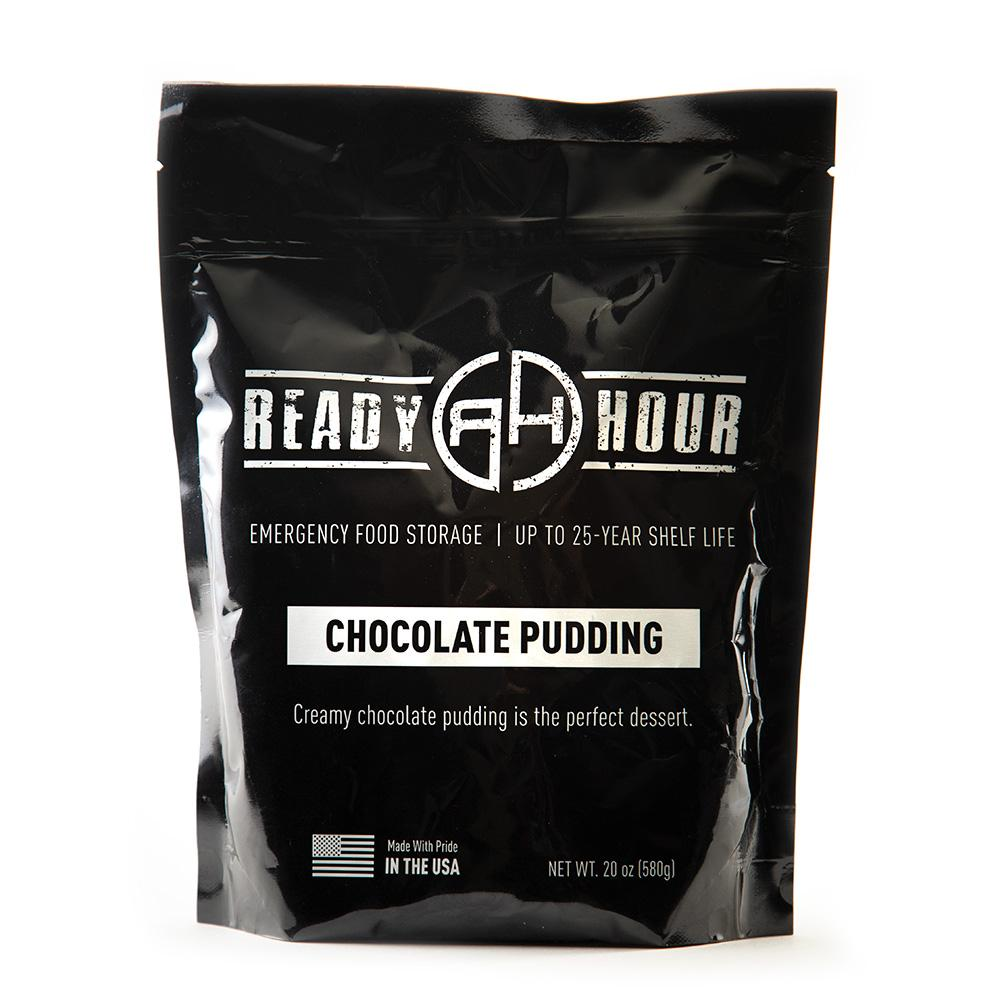 Chocolate Pudding Single Package (10 servings) - Ready Hour