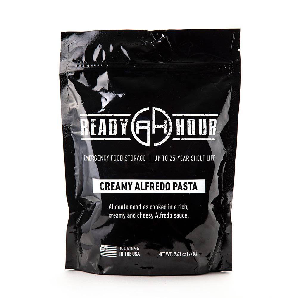 Creamy Alfredo Pasta Single Package (4 servings) - Ready Hour