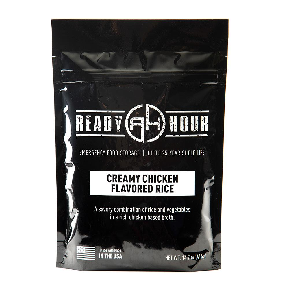 Creamy Chicken Flavored Rice Single Package (4 servings) - Ready Hour