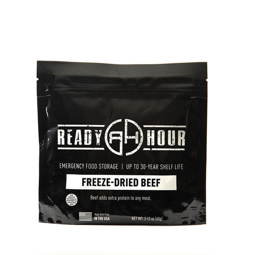 Freeze-Dried Beef Single Package (4 servings) - Ready Hour