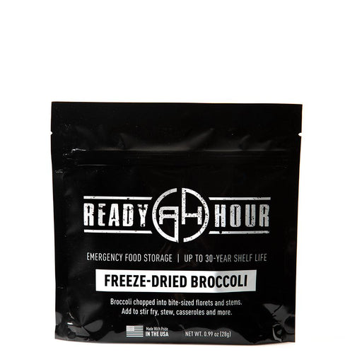 Freeze-Dried Broccoli Single Package (8 servings) - Ready Hour