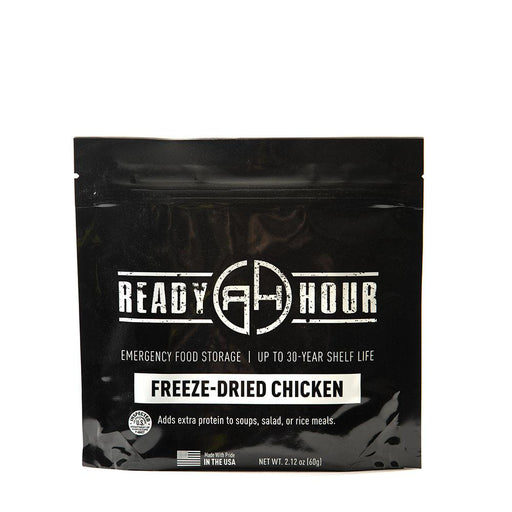 Freeze-Dried Chicken Single Package (4 servings) - Ready Hour