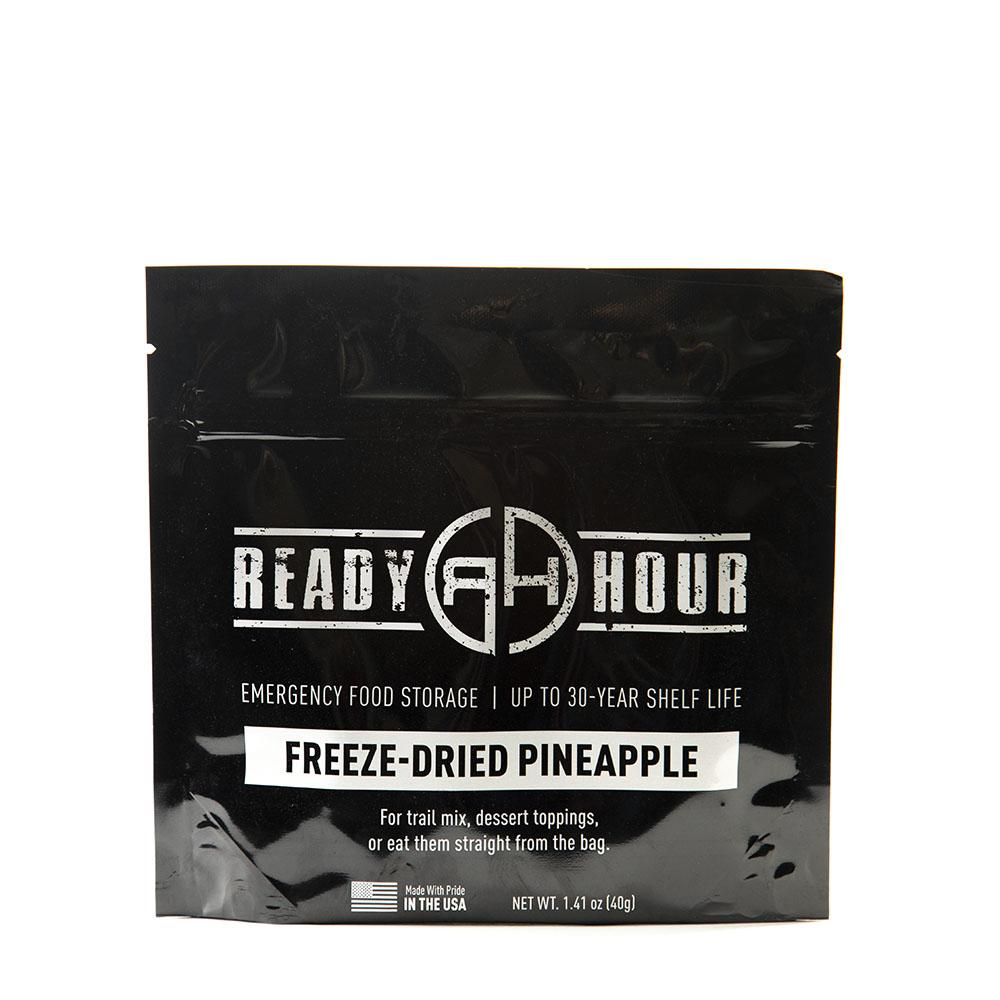 Freeze-Dried Pineapple Single Package (8 servings) - Ready Hour