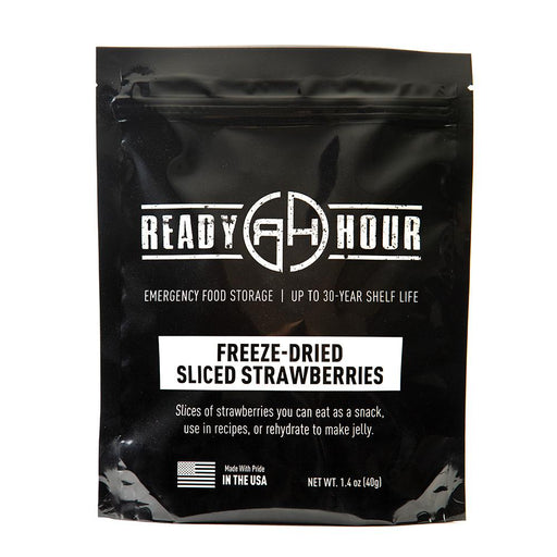 Freeze-Dried Strawberries Single Package (8 servings) - Ready Hour
