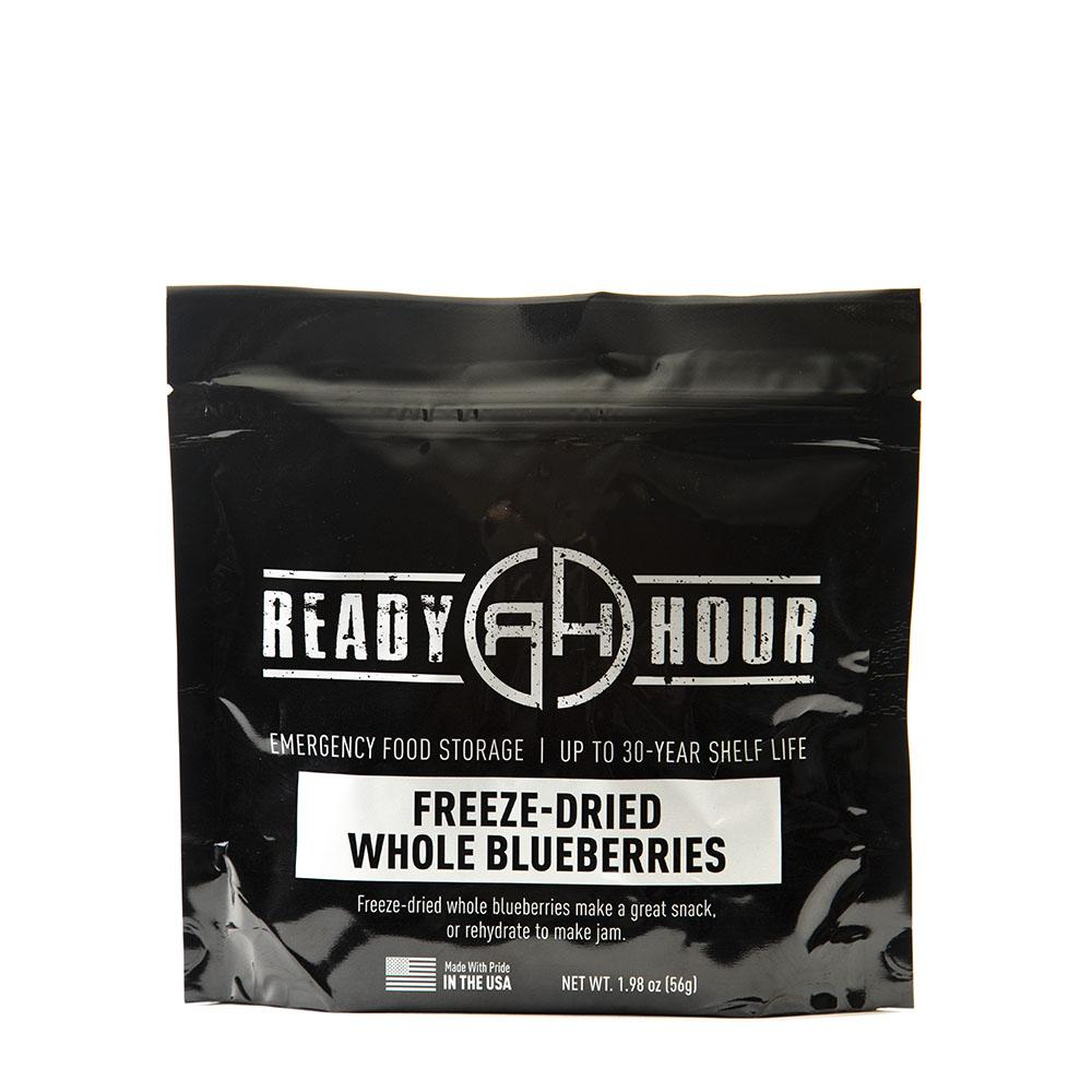 Freeze-Dried Blueberries Single Package (8 servings) - Ready Hour