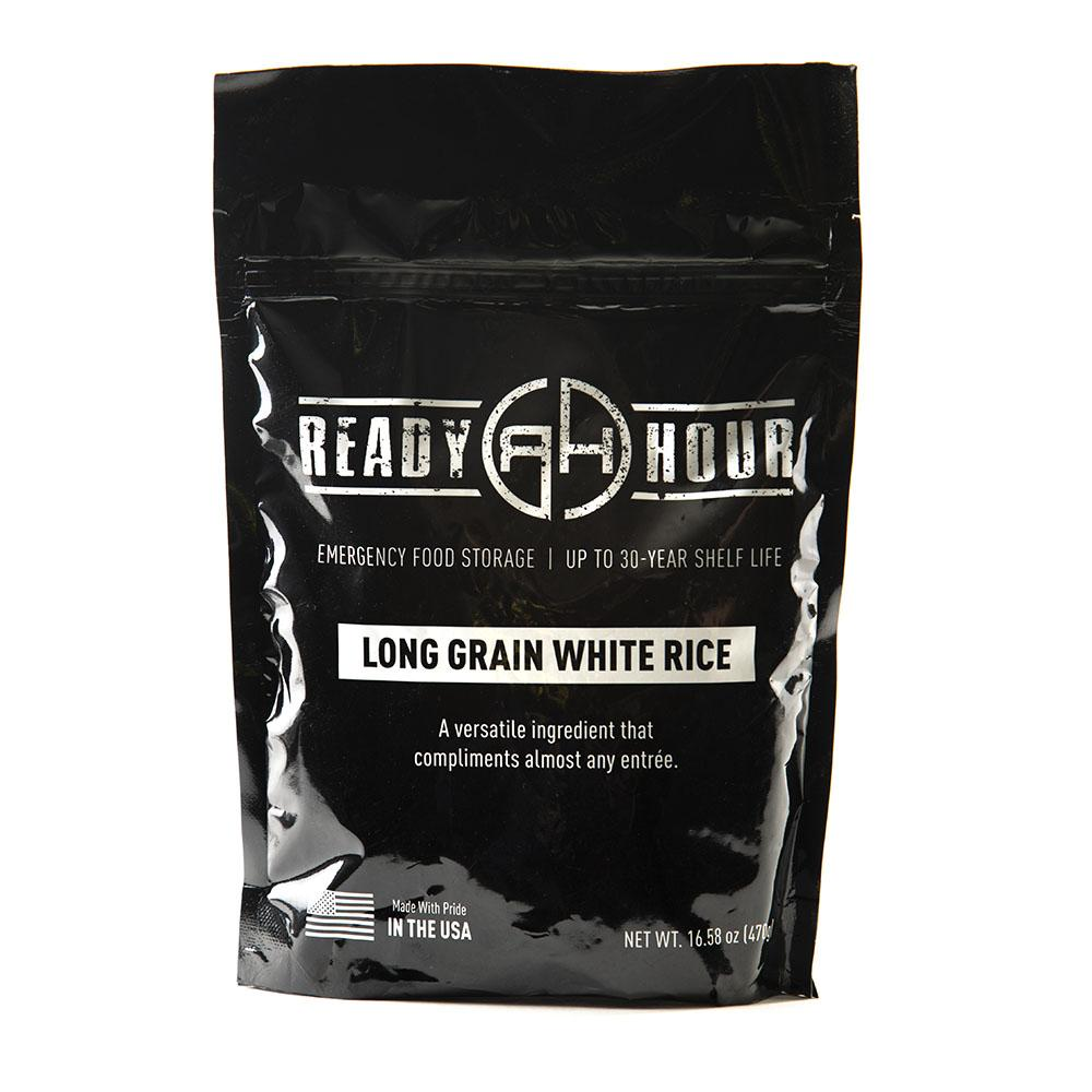 Long Grain White Rice Single Package (10 servings) - Ready Hour