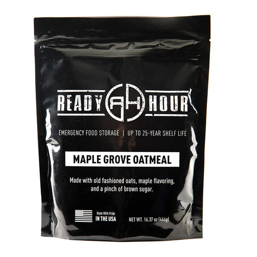 Maple Grove Oatmeal Single Package (8 servings) - Ready Hour