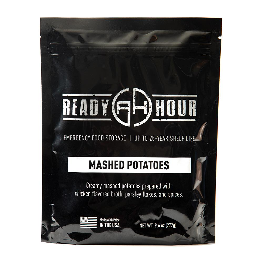 Mashed Potatoes Single Package (8 servings) - Ready Hour