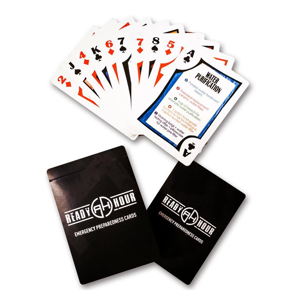 Ready Hour Preparedness Playing Cards - Ready Hour