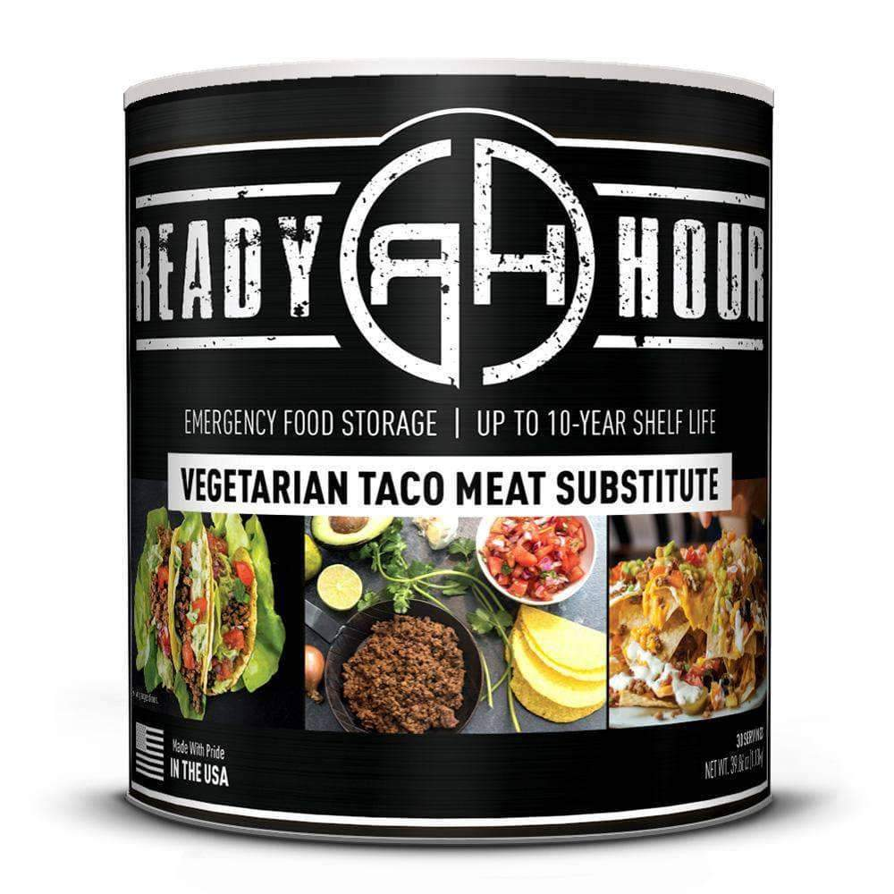 Vegetarian Taco Meat Substitute ready hour