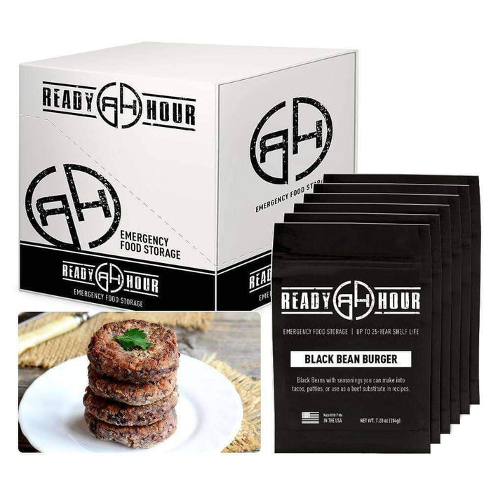 Ready Hour Black Burger Mix Case Pack (36 servings, 6 pk.) - Ready Hour