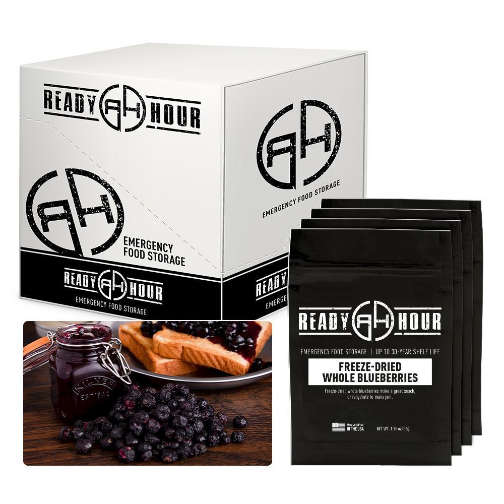 Ready Hour Freeze-Dried Blueberries Case Pack (32 servings, 4 pk.)