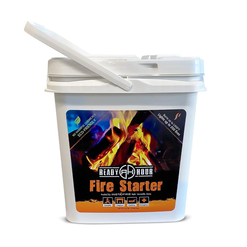 Ready Hour Fire Starter & Fuel (2-gallon bucket) - Ready Hour