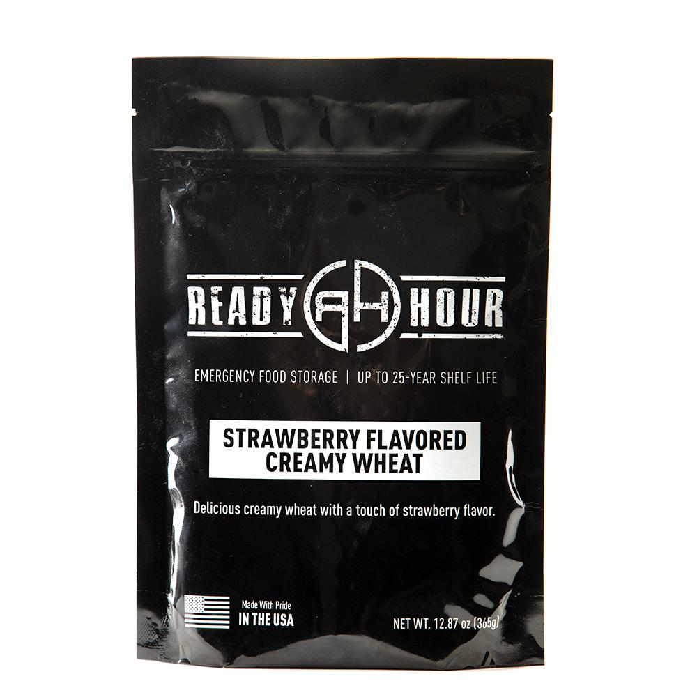 Strawberry Flavored Creamy Wheat Single Package (8 servings) - Ready Hour