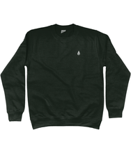 Load image into Gallery viewer, Unisex forest green Orontay series 2 vegan sportswear jumper with Orontay sprite logo