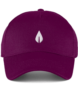 Unisex light burgundy Orontay series 2 vegan sportswear curve cap with sprite logo