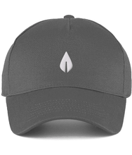 Load image into Gallery viewer, Unisex dark grey Orontay series 2 vegan sportswear curve cap with sprite logo
