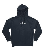 Load image into Gallery viewer, Mens navy Orontay series 2 vegan sportswear hoodie with Orontay duo logo