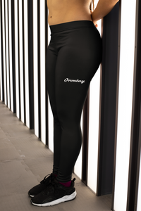 Series 2 Womens Text Leggings